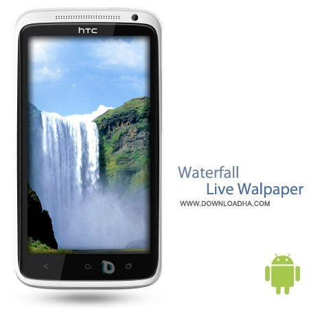 Waterfall Live Walpaper v2.4 لایو والپیپر آبشار Waterfall Live Walpaper v2.4 – اندروید