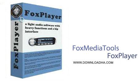 FoxMediaTools FoxPlayer 4.0.0 نرم افزار پخش کننده فایل های صوتی FoxMediaTools FoxPlayer 4.0.0