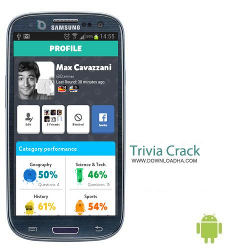 Trivia Crack v1.6.2 بازی تستی اطلاعات عمومی Trivia Crack v1.6.2 – اندروید