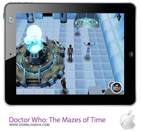 Doctor Who The Mazes of Time 1.2.1 بازی دکتر هو Doctor Who: The Mazes of Time 1.2.1 – آیفون ، آیپد و آیپاد