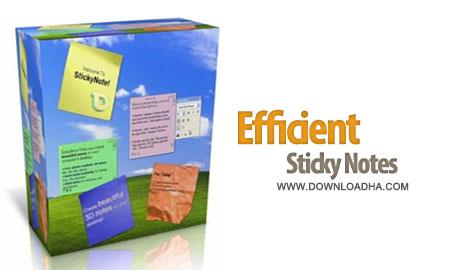 Efficient%20Sticky%20Notes%20Pro%203.71%20Build%20371 نرم افزار نوشتن یادداشت و برنامه روزانه Efficient Sticky Notes Pro 3.71 Build 371