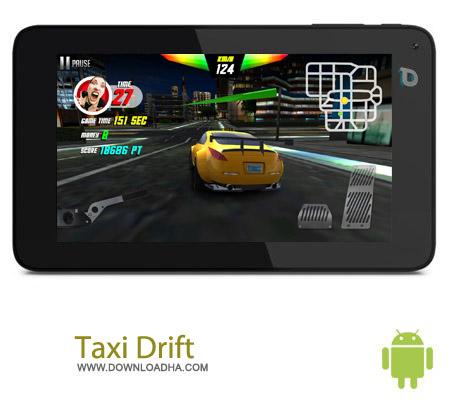 Taxi Drift v1.0 بازی راننده تاکسی Taxi Drift v1.0 – اندروید