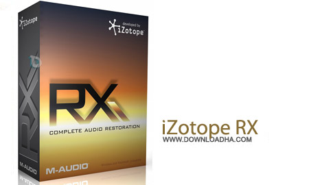 iZotope RX Advanced v2.2 DX VST RTAS نرم افزار ترمیم فایل های صوتی iZotope RX Advanced v2.2 DX VST RTAS