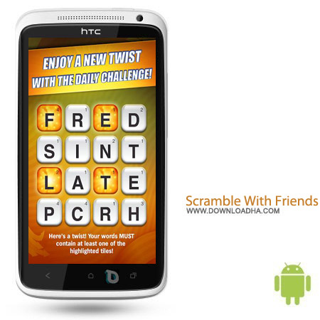 Scramble With Friends v6.12 بازی پازل Scramble With Friends v6.12 – اندروید
