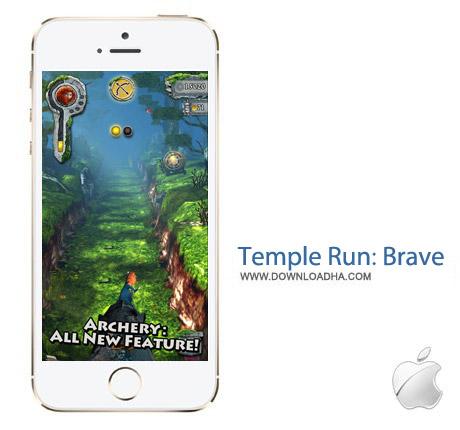 Temple Run Brave 1.5.0 بازی فرار از معبد Temple Run: Brave 1.5.0 – آیفون ، آیپد و آیپاد