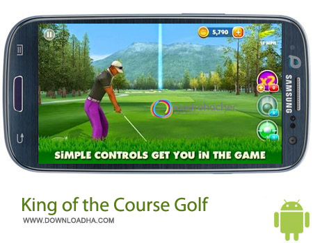 King of the Course Golf v1.1 بازی گلف King of the Course Golf v1.1 – اندروید
