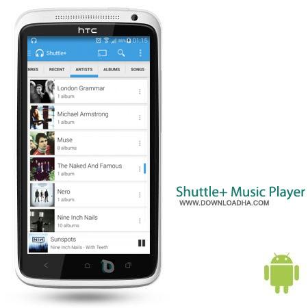 Shuttle%2b Music Player Pro v1.3.17 نرم افزار پخش کننده موزیک Shuttle+ Music Player Pro v1.3.17 – اندروید