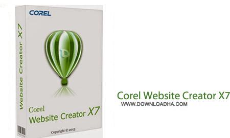 Corel Website Creator X7 13.50.0100.5566 نرم افزار حرفه ای طراحی سایت Corel Website Creator X7 13.50.0100.5566