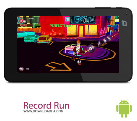 Record Run v1.01 بازی دزد موسیقی Record Run v1.01 – اندروید