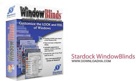 Stardock WindowBlinds v8.04 نرم افزار زیبا سازی محیط ویندوز Stardock WindowBlinds v8.04