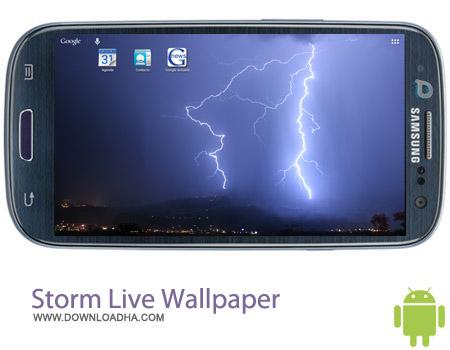 Storm Live Wallpaper v1.1 لایو والپیپر طوفان Storm Live Wallpaper v1.1 – اندروید