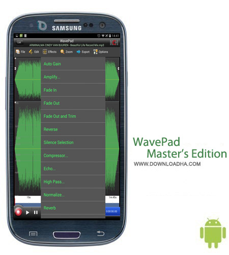WavePad Master%92s Edition 5.82 نرم افزار ویرایش فایل های صوتی WavePad Master's Edition 5.82 – اندروید
