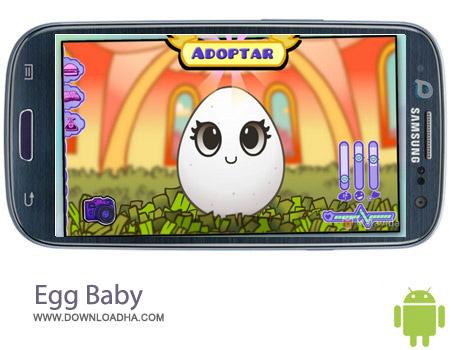 Egg Baby 1.11 بازی مراقبت از تخم مرغ Egg Baby 1.11 – اندروید