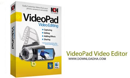 NCH VideoPad Video Editor 3.57 نرم افزار ویرایشگر ویدیو NCH VideoPad Video Editor 3.57