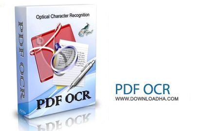PDF OCR 4.3.3 نرم افزار ویرایش فایل پی دی اف PDF OCR 4.3.3