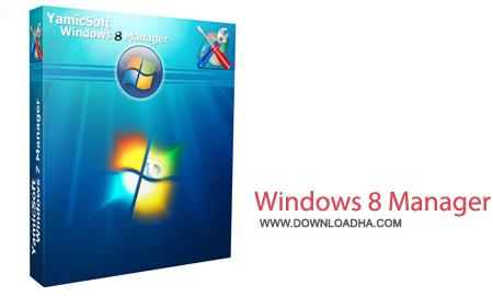 Windows 8 Manager v2.1.0 نرم افزار بهینه سازی اختصاصی ویندوز ۸ با Windows 8 Manager v2.1.0