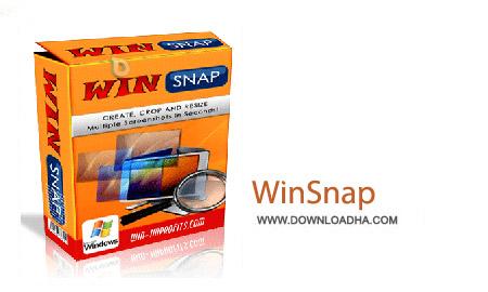 WinSnap 4.5.3 نرم افزار تهیه عکس از محیط ویندوز WinSnap 4.5.3