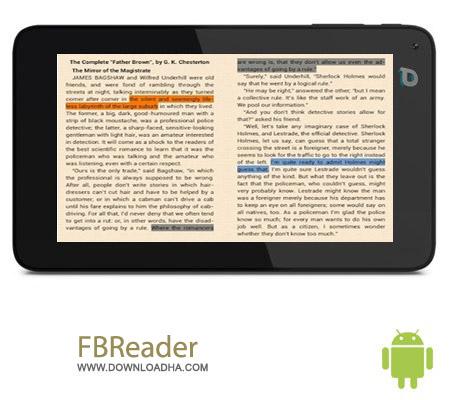 FBReader v1.10.2 نرم افزار کتابخوان FBReader v1.10.2 – اندروید