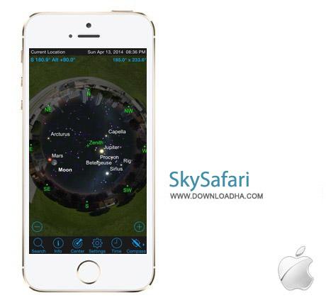 SkySafari 4 نرم افزار نجوم SkySafari 4 4.0.6 – آیفون ، آیپد و آیپاد