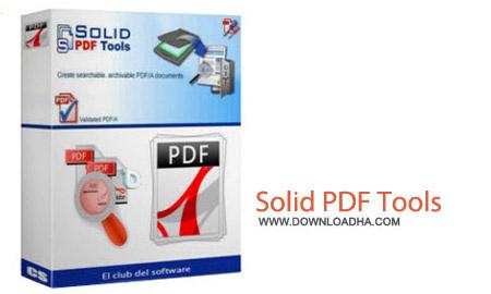 نرم افزار ساخت فایل های PDF با Solid PDF Tools 9.0.4825.366