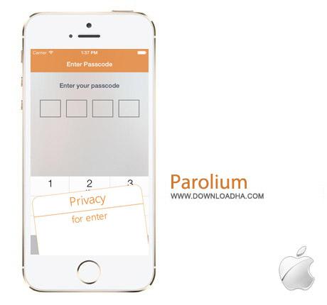 Parolium 1.62 نرم افزار ساخت رمز قدرتمند Parolium 1.62 – آیفون و آیپد