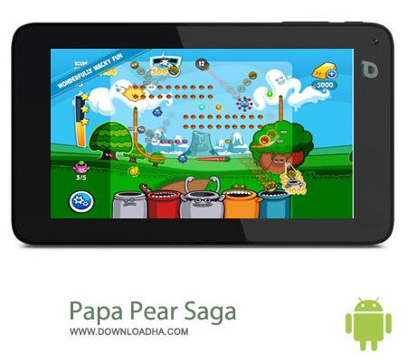 Papa Pear Saga v1.12.0 بازی سرگرم کننده Papa Pear Saga v1.12.0 – اندروید