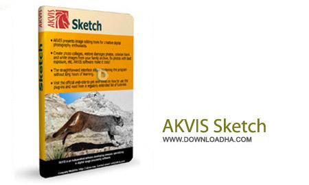 AKVIS Sketch 15.0 نرم افزار تبدیل عکس به نقاشی AKVIS Sketch 15.0