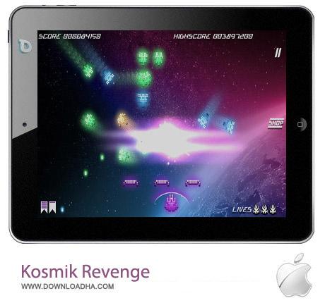 Kosmik Revenge بازی کهکشان Kosmik Revenge 1.0.7 – آیفون ، آیپد و آیپاد