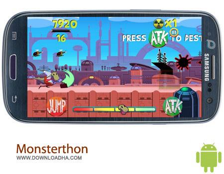 Monsterthon v1.0.20 بازی هیولای نابودگر Monsterthon v1.0.20 – اندروید