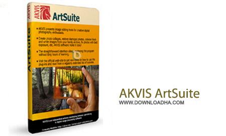 AKVIS ArtSuite 10.5 نرم افزار افکت گذاری عکس ها AKVIS ArtSuite 10.5