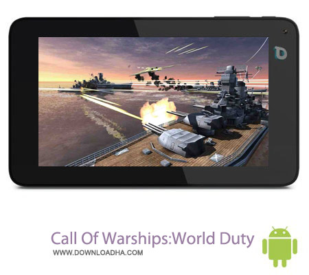 Call Of WarshipsWorld Duty v1.0 بازی جنگی Call Of Warships:World Duty v1.0 – اندروید