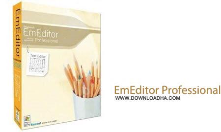 EmEditor Professional v14.5.0  نرم افزار ادیت حرفه ای متون EmEditor Pro 15.0.0 Final