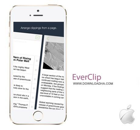 EverClip 2 نرم افزار کپی کردن صفحات وب EverClip 2 2.0 – آیفون و آیپد