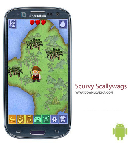 Scurvy Scallywags v1.1.0 بازی ماجراجویی Scurvy Scallywags v1.1.0 – اندروید