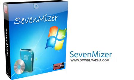 SevenMizer v2.1.0.0 نرم افزار تبدیل ظاهر ویندوز XP به ویندوز سون SevenMizer v2.1.0.0