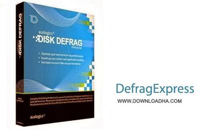 DefragExpress v1.46 نرم افزار یکپارچه سازی فضای هارد دیسک DefragExpress v1.46
