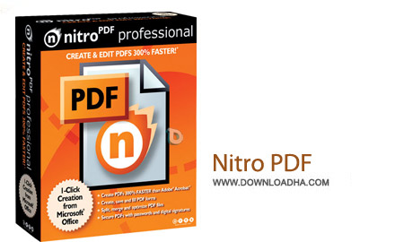 Nitro PDF Professional 9.5.2.29 نرم افزار ساخت و تبدیل فایل پی دی اف Nitro PDF Professional 9.5.2.29