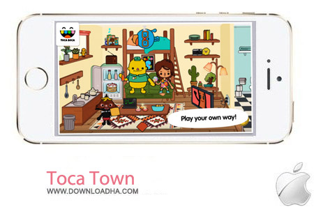 Toca Town 1.0.1 بازی کودکانه Toca Town 1.0.1 – آیفون و آیپد