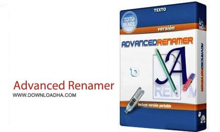Advanced Renamer v3.64 نرم افزار تغییر نام حرفه ای فایل ها Advanced Renamer v3.64