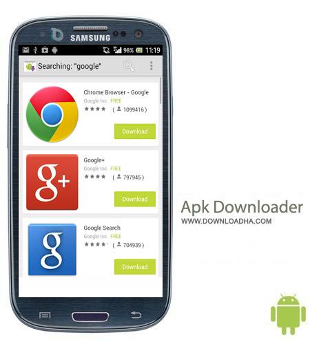 Apk Downloader v1.13 نرم افزار دانلود از گوگل پلی Apk Downloader v1.13 – اندروید