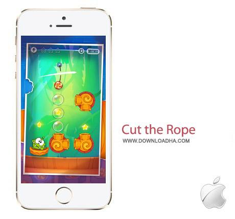 Cut the Rope Experiments 1.7.1 بازی بریدن طناب Cut the Rope: Experiments 1.7.1 – آیفون ، آیپد و آیپاد