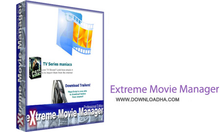 Extreme Movie Manager 8.3.0.0 نرم افزار آرشیو کردن فیلم ها Extreme Movie Manager 8.3.0.0