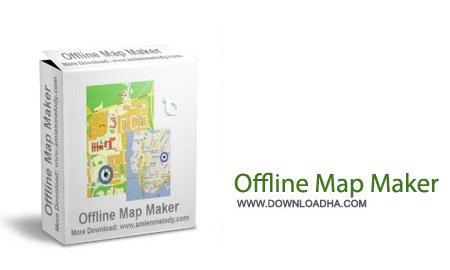 Offline Map Maker 5.02 نرم افزار ذخیره نقشه های آفلاین Offline Map Maker 5.02