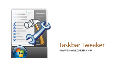 Taskbar Tweaker 4.5.1 نرم افزار پیکربندی تنظیمات تسکبار ویندوز سون Taskbar Tweaker 4.5.1