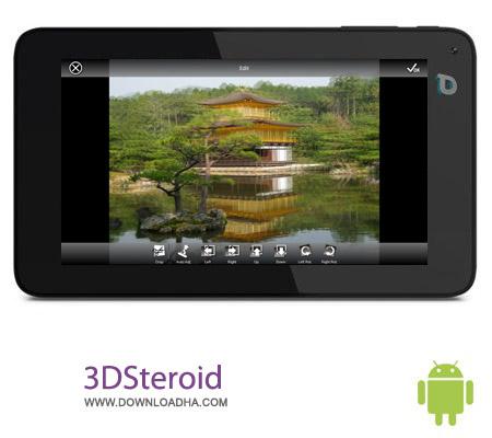 3DSteroid Pro 3.06 نرم افزار سه بعدی سازی تصاویر 3DSteroid Pro 3.06 – اندروید