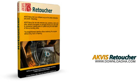 AKVIS%20Retoucher%207.0 نرم افزار روتوش حرفه ای تصاویر AKVIS Retoucher 7.0