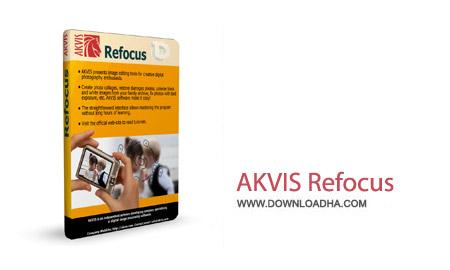 AKVIS Refocus 4.0 نرم افزار اصلاح فوکوس تصاویر AKVIS Refocus 4.0