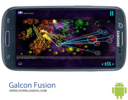 Galcon Fusion v1.0.16.1 بازی استراتژیکی فضایی Galcon Fusion v1.0.16.1 – اندروید
