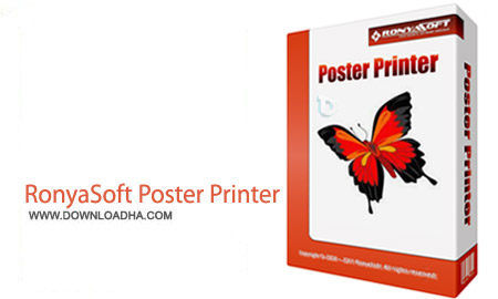 RonyaSoft Poster Designer 2.01.54 نرم افزار پرینت پوستر ها RonyaSoft Poster Printer 3.01.40