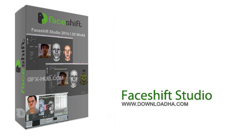 Faceshift Studio 2014.1.00 نرم افزار شبیه ساز حرکات چهره Faceshift Studio 2014.1.00
